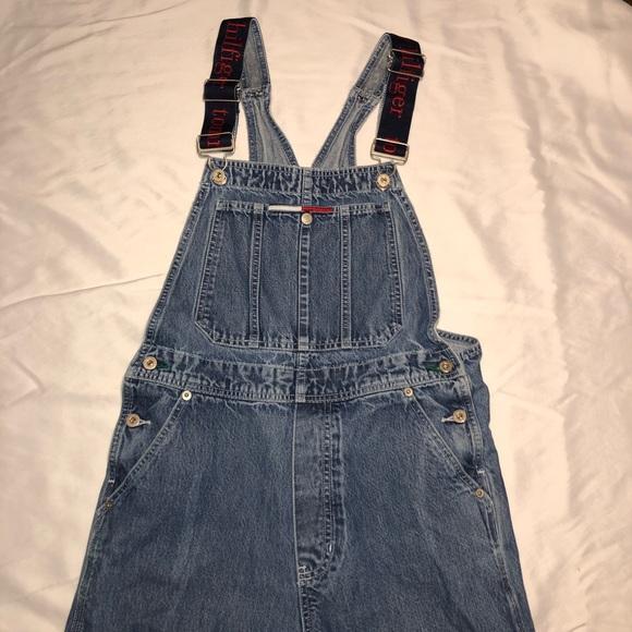 554a12f7 Tommy Hilfiger Jeans | Vintage 90s Carpenter Bib Overalls | Poshmark